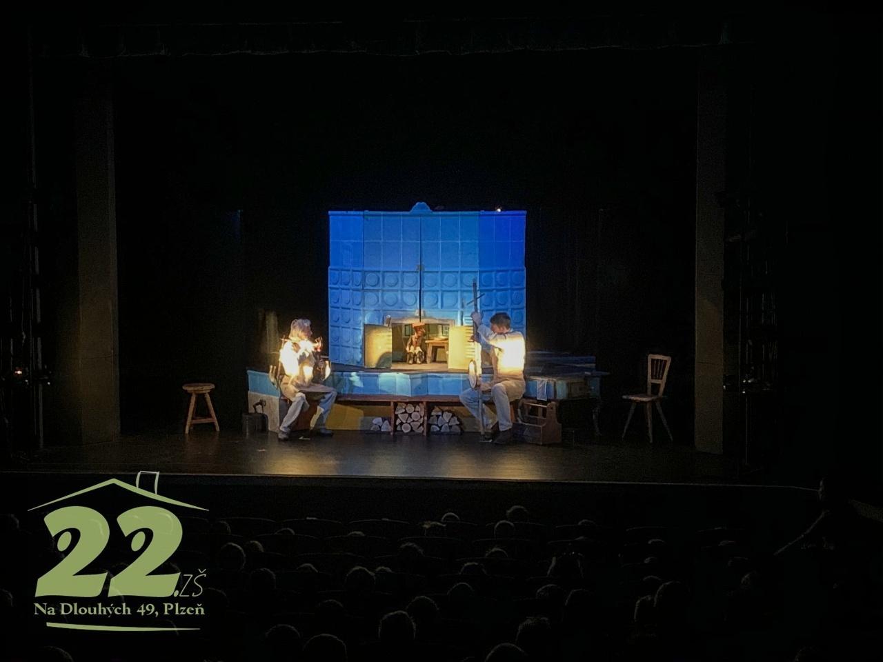 Návštěva divadelního představení - 2. třídy